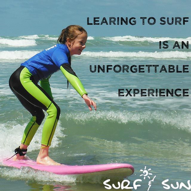 Learning to surf: an experience we want to share with you!
