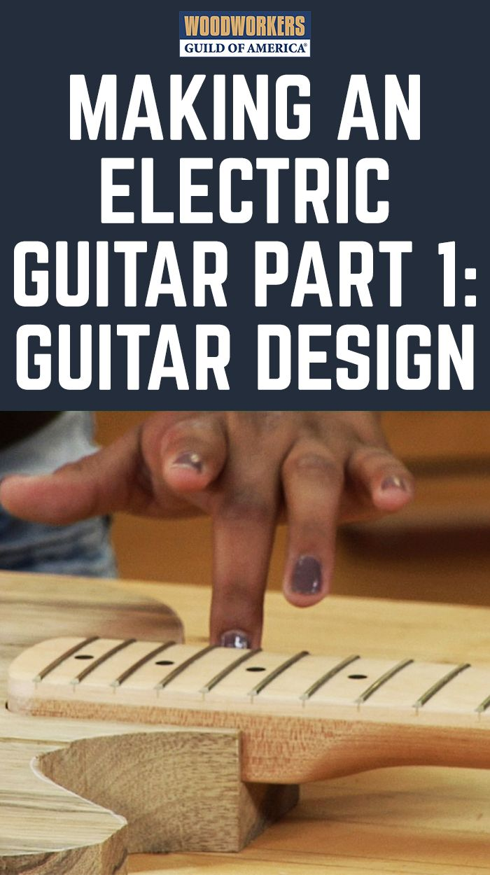 Making an electric guitar can be a fun and rewarding woodworking project. George's daughter, Ginny, decided to make an electric guitar as a gift for her boyfriend. In part one of this series Ginny gives the background of the guitar design and how she got started on this project.