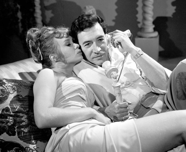 Sixties | Peter Wyngarde and Carol Cleveland in The Avengers, 1966
