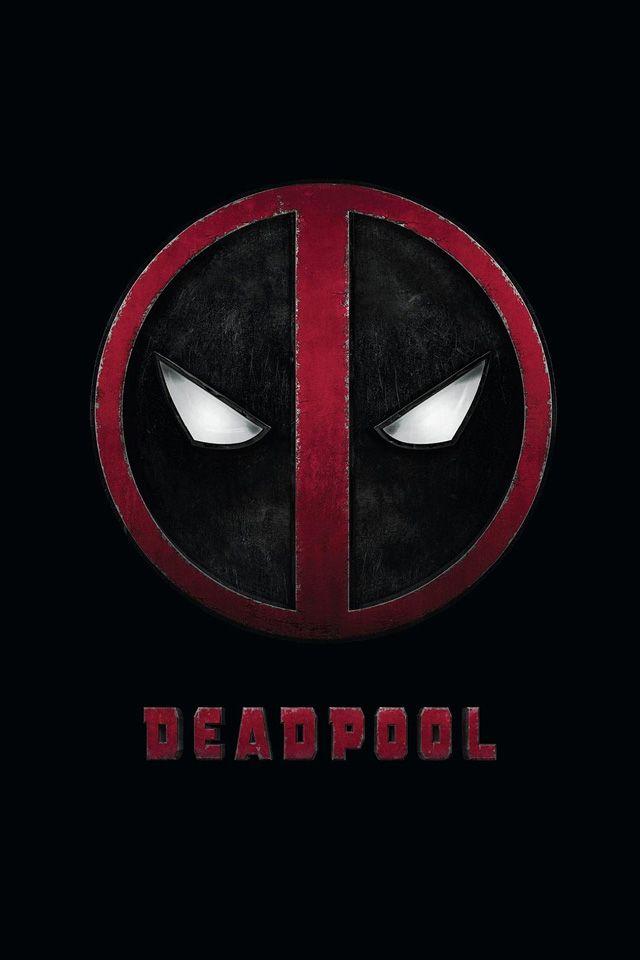 Deadpool Logo Wallpaper. #deadpool #iphone #wallpaper