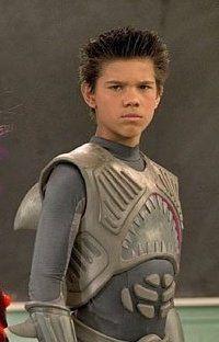 90's kid: Taylor Lautner was Shark Boy. I had a really big crush on him!  Actually then again, I still do!