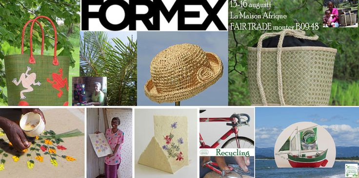 Welcome to La Maison Afrique FAIR TRADE stand B09:48 at Formex, Stockholm international fairs 13-16 August 2014