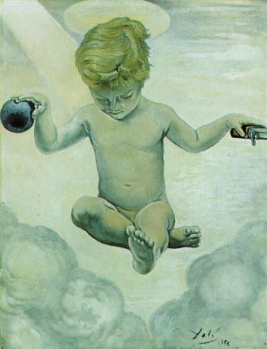 The Infant Jesus - Salvador Dali