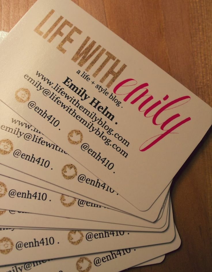 17 best Blogger business cards images on Pinterest   Card ideas ...