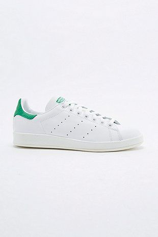 Adidas Originals - Baskets Stan Smith vertes et blanches. Celles que l'on adopte !