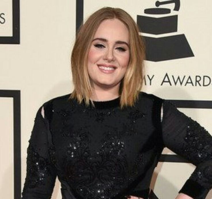 Adele's hair from The Grammys