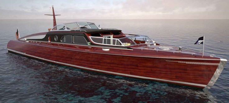 Design: Commuter Yacht Posh | Power Boat Esthetics | Boat, Motor boats und Boat plans