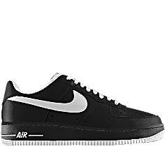 Nike Air Force 1 Faible Sbire Noir / Violet Tribunal