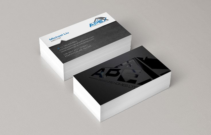 102 best business cards images on pinterest business cards hotspot creative solutions apex signature homes business card we aimed to make the logo reheart Images