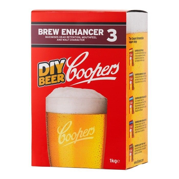 #Coopers brew #enhancer 3 home brew beer #lager kit ingredients sugar 1kg box,  View more on the LINK: 	http://www.zeppy.io/product/gb/2/152392096802/