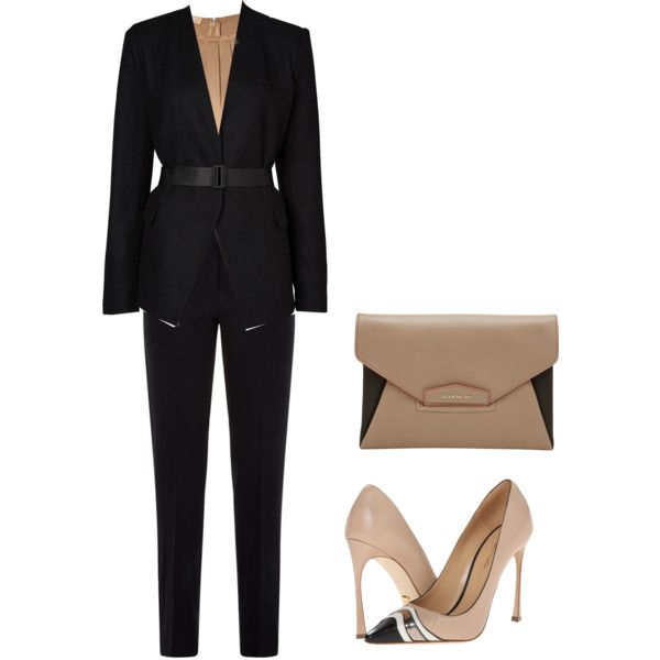 Untitled #5 by polymaven-579 on Polyvore featuring polyvore fashion style Michael Kors Witchery Armani Collezioni Sergio Rossi Givenchy
