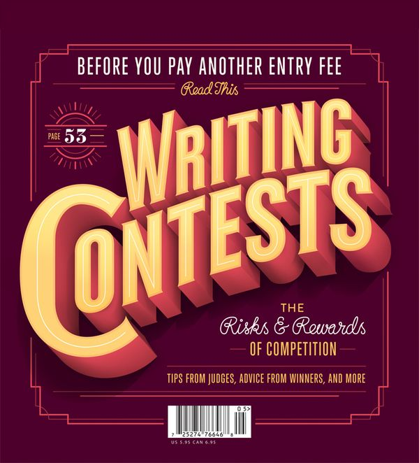 Poets & Writers Magazine Cover on Typography Served