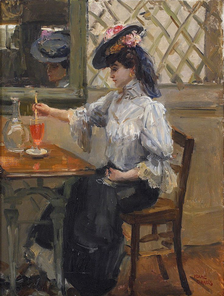 Isaac Israëls (1865-1934) - In the Cafe (c.1905)