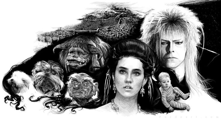322 best images about Labyrinth on Pinterest Labyrinth 1986 Characters