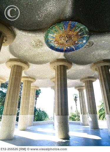 Gaudi. Park Guell. Barcelona. 1900 to 1914