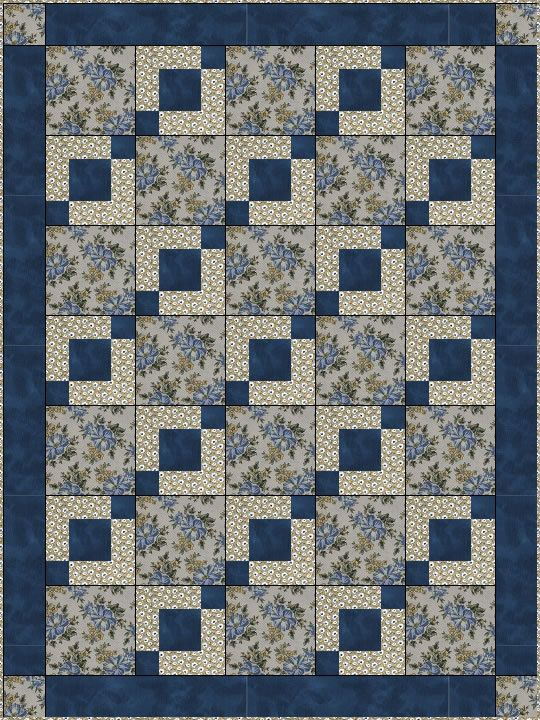 Quilt Patterns With 3 Fabrics : 17 Best images about a Quilts of Valor on Pinterest Quilt, Patriotic quilts and Two color quilts