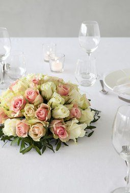 Vakre+rosedekorasjoner+i+lys+rosa.