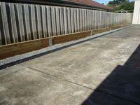 Timber Retaining Wall. Landscaper Pakenham - Ground Up Garden Renovators www.gardenrenovators.com.au