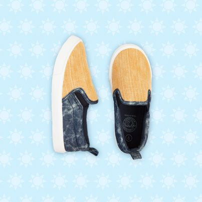 Pumpkin Patch Boys Baja Slip On - available in sizes 1, 2 and 6 to 13 http://www.pumpkinpatchkids.com/