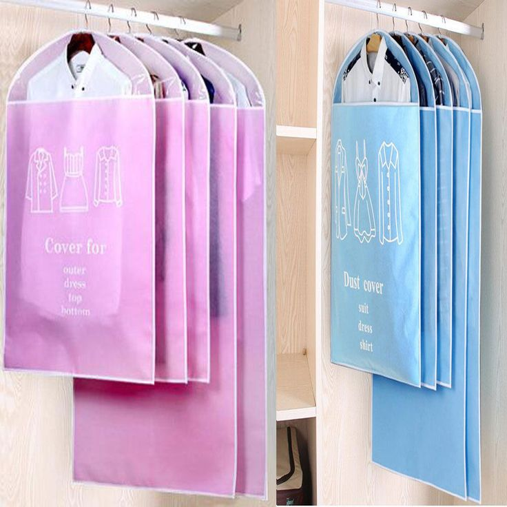 Pro Dust-proof Clothes Cover Garment Bag Storage Protector Bags Suit Dust Cover