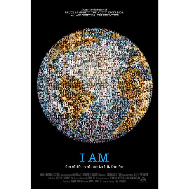 I AM - Loved this one! Beautiful film about what's important in life. Would love to screen it but despite many attempts, have not been able to get hold of the producers to get the screening rights - if anyone can help, please let me know!