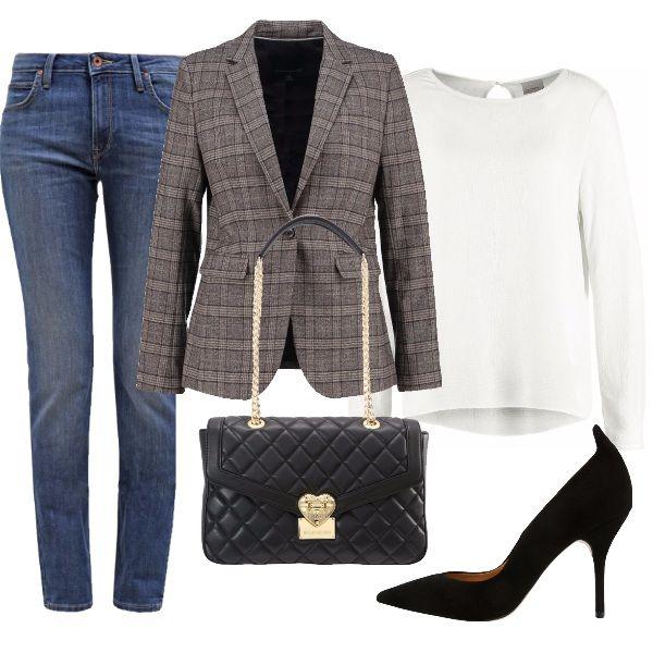 anna giacca grigio scura donna abbinamenti