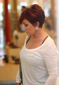 Sharon Osbourne Diamond Studs - Sharon Osbourne Looks - StyleBistro