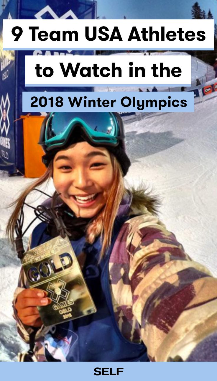 With less than a month to go until the Winter Olympics in Pyeongchang, South Korea, it's time to get to know the Team USA athletes. Each and every Team USA athlete has a story worth telling, but we've chosen nine buzzy women and men who you'll definitely want to follow along their Olympic journey. Our list includes young names like Chloe Kim and Mikaela Shiffrin and veterans like Lindsey Vonn and Elana Meyers Taylor. Let's go Team USA!