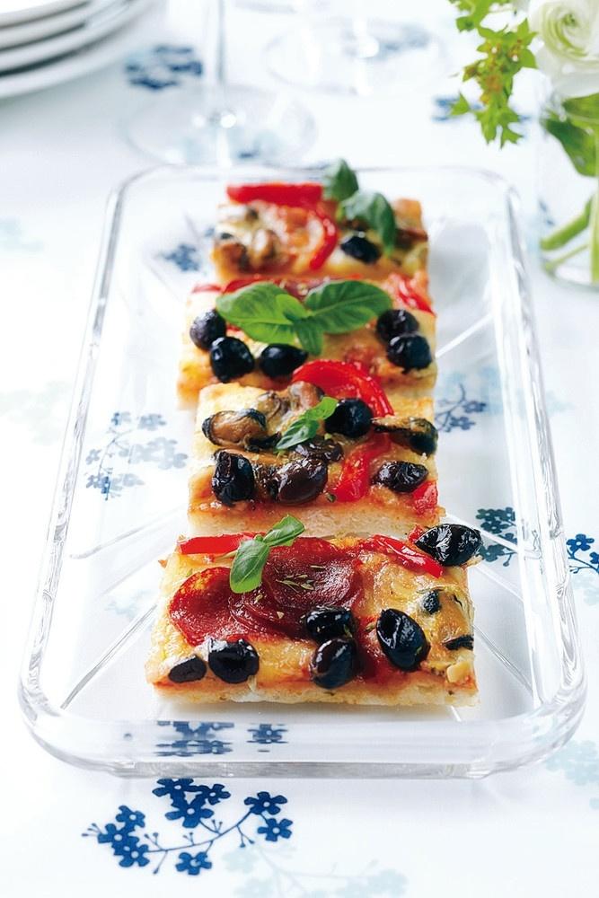 Simpukka-pepperonipizzapalat | K-ruoka #gluteeniton