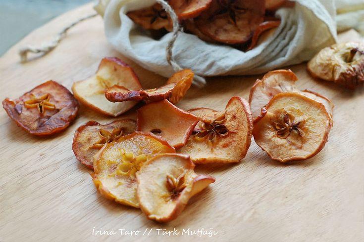 Кухня турецких тетушек - 85. Kurutulmuş Elma / Сушеные яблоки