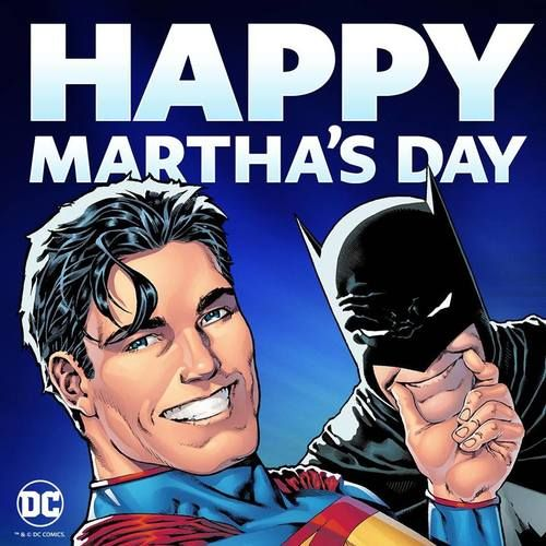 They're brothers from another Martha. Happy Mothers Day, everybody! Superman, May 2017