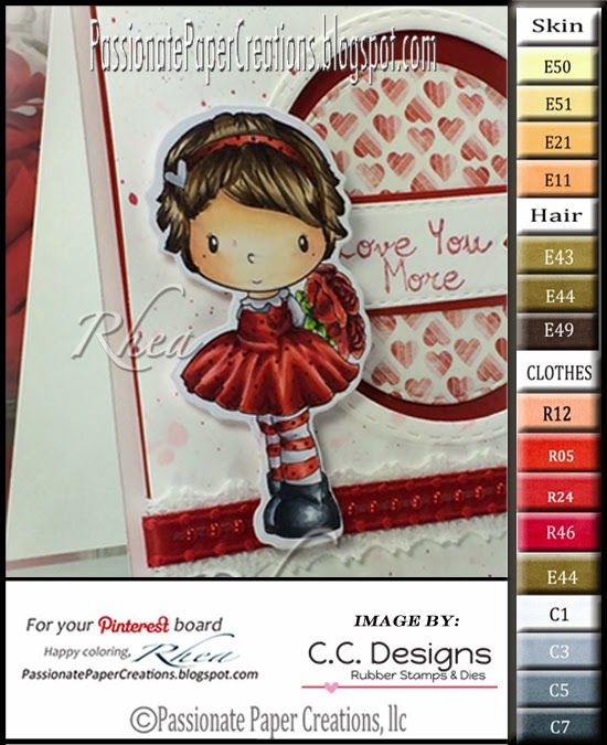Passionate Paper Creations: C.C. Designs Preview made by Rhea Weigand - [Color Palette for C.C.Sweet Pixie images 31-Dec-14] - Stamping.
