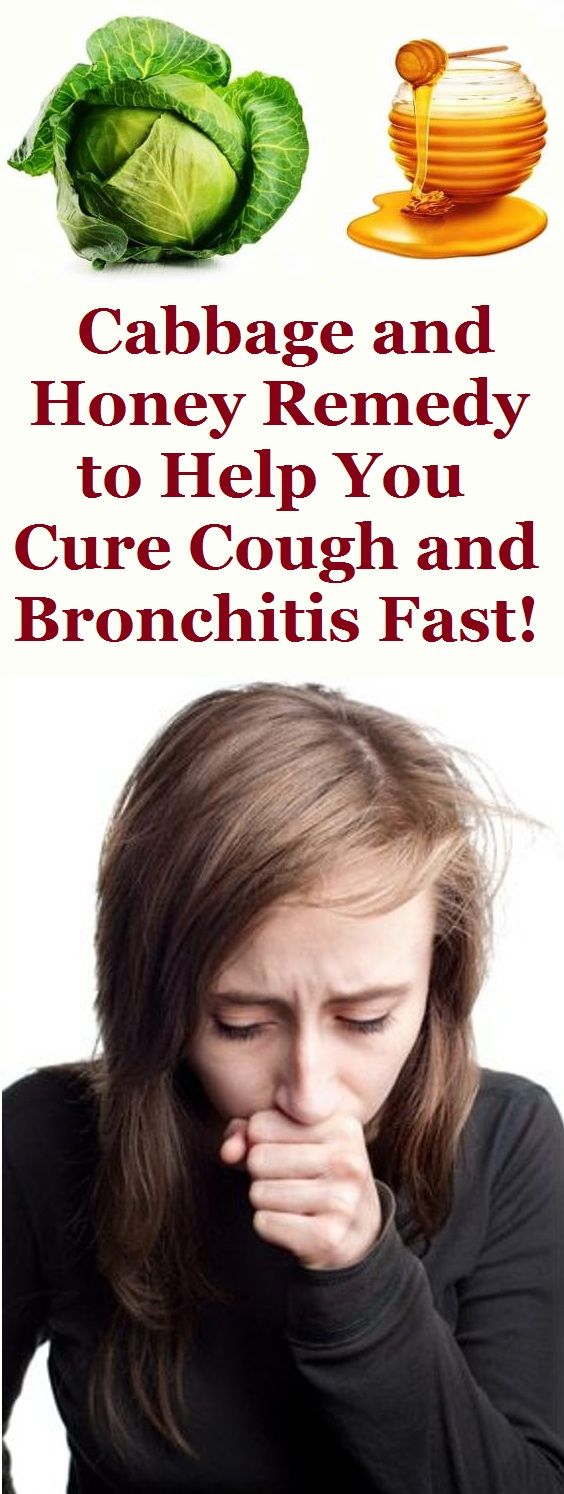 Cabbage and Honey Remedy to Help You Cure Cough and Bronchitis Fast!