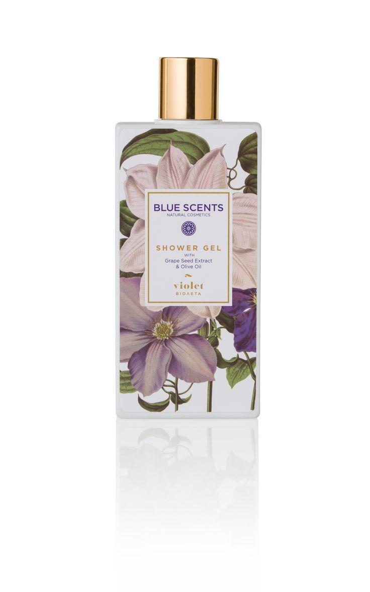 Blue Scents Shower Gel Violet