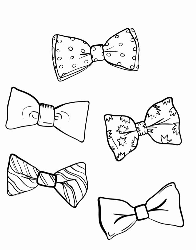 Bow Tie Coloring Page Lovely August 28 National Bow Tie Day Coloring Pages New Year Coloring Pages Bat Coloring Pages