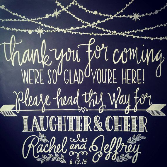 Wedding Welcome Sign: Thank you for coming by ShoesWithTattoos