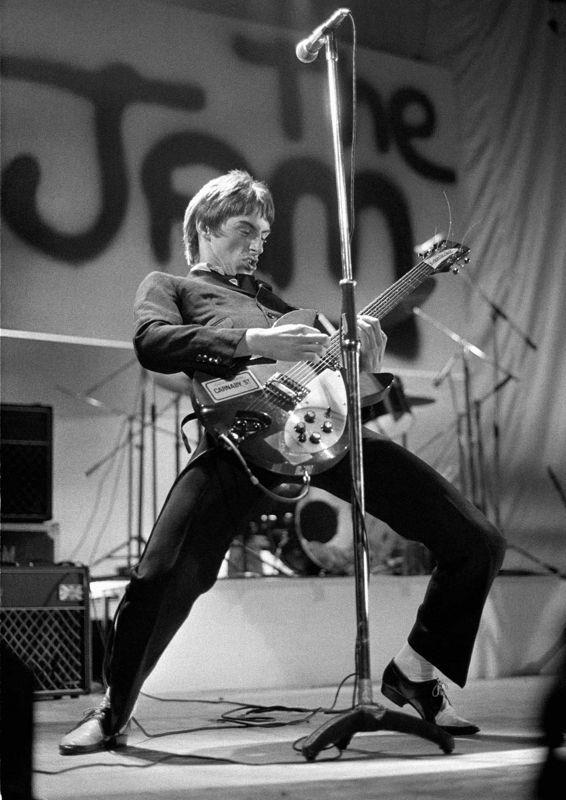 Paul Weller, by Ian Dickson