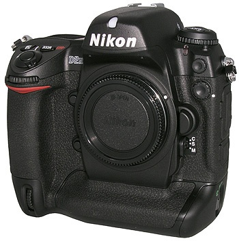 Nikon D2H. My first digital SLR from New York City.