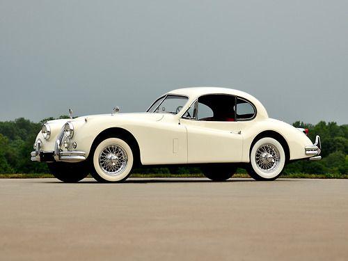 1954 Jaguar XK140 Fixed Head Coupe.