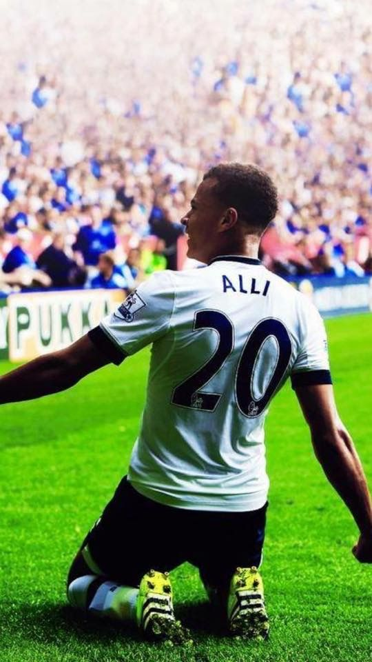 We've got Alli, Dele Alli, I just don't think you understand... #COYS