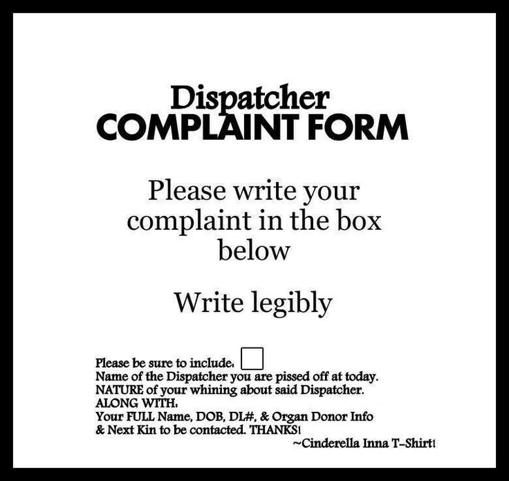 258 best Donu0027t be a bitch images on Pinterest - complaint form