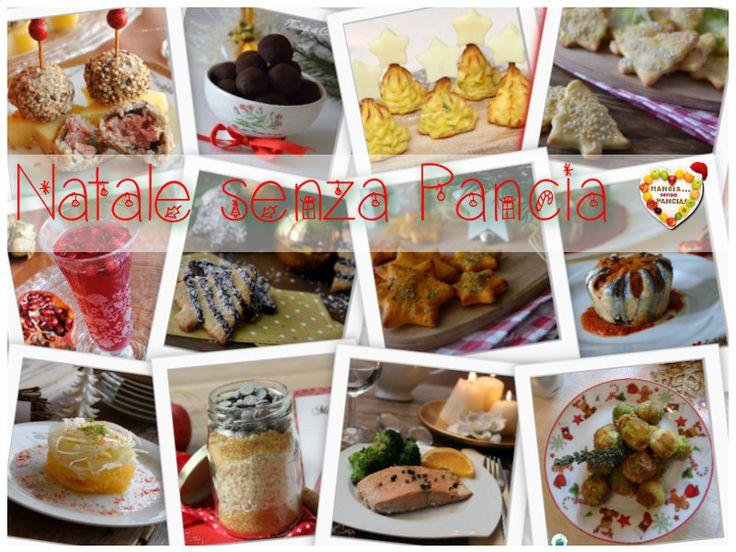 Tante ricette light per le feste natalizie dal gruppo di foodblogger di Mangia senza Pancia: le ricette sono corredate di punti Weight Watchers Propoints.