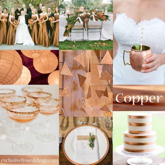 Copper Wedding Color