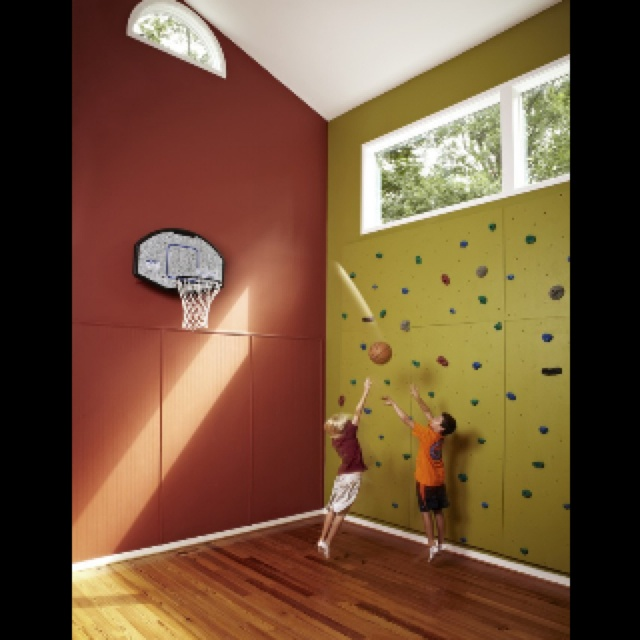 basketball room i want one in my house i will have a extra room in my