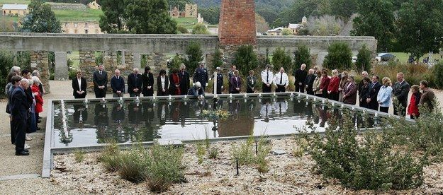 A little recap: 35 Australians were gunned down in the Tasmanian town of Port Arthur in 1996. It plunged the country into deep mourning, and remains to this day one of the worst single-shooter massacres in history.