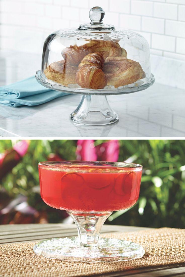 La Pastelera/Ponchera con tapa de campana Fantasia® es el mejor regalo para el Día de las Madres. Como tiene doble función ¡darás dos regalos!