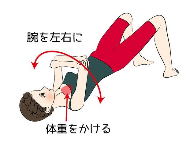 肩凝り解消の定番、肩甲骨はがし。でも余分な力が入ったり、正しいフォームでできているかよく分からなかったりイマイチしっくり来ない場合も。そこで、正しいフォームでリラックスしながらできる「寝たまま肩甲骨はがし」をご紹介します。