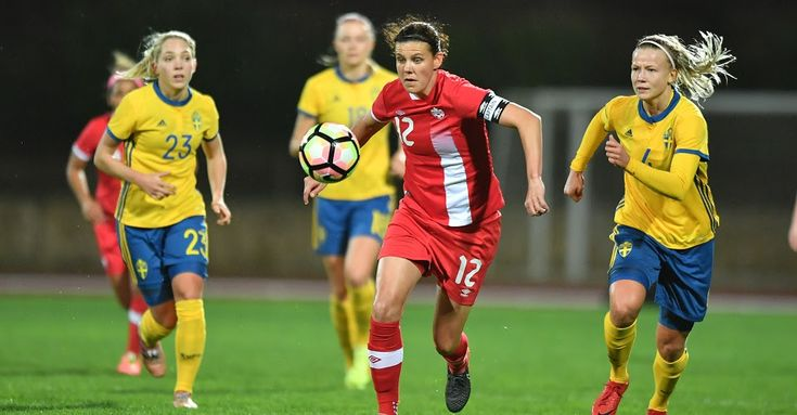 Canada Soccer's Women's National Team fall in its opening match of the 2018 Algarve Cup