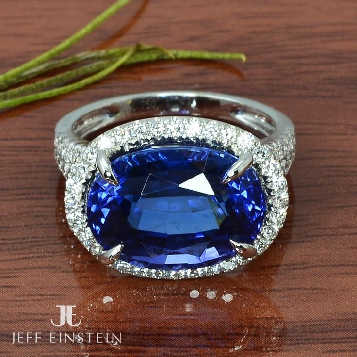 Exquisite is an understatement for this incredible Tanzanite ring, in store now, come try it on!  #jeffeinsteinjewellery #doublebay #sydney #diamond #tanzanite #finejewellery #jewelry #jewellery #sparkle #style #ring #whitegold #weddinginspiration #diamondring