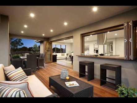 Image result for external wall of alfresco deck